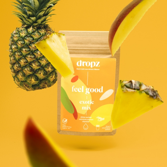 Dropz-Exotic mix with mango pineapple