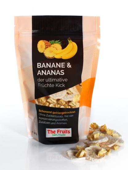 Freeze-Dried Bananas & Pineapple