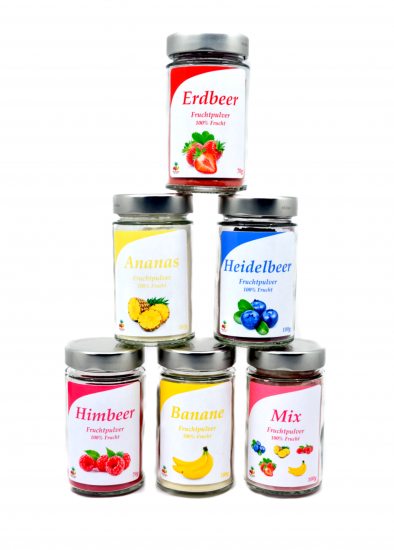 Fruits powder set for only CHF 49.90 instead of CHF 59.40