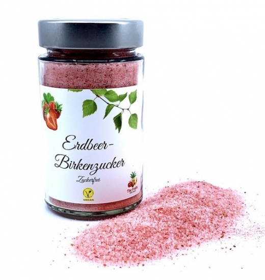Strawberry birch sugar