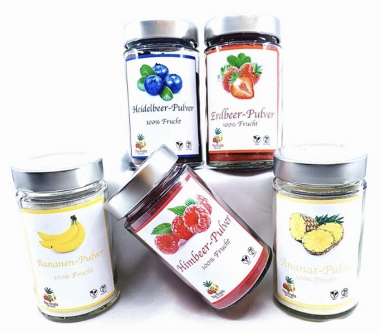 Fruits powder set for only CHF 49.90 instead of CHF 55.80