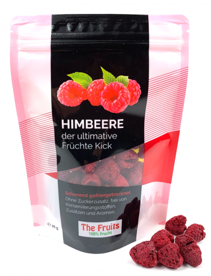 Freeze-Dried Raspberries 5 pieces