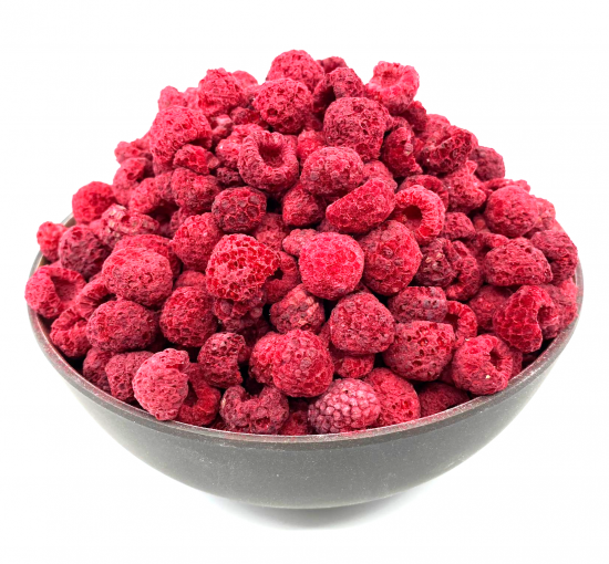 Freeze-dried Raspberries 100g