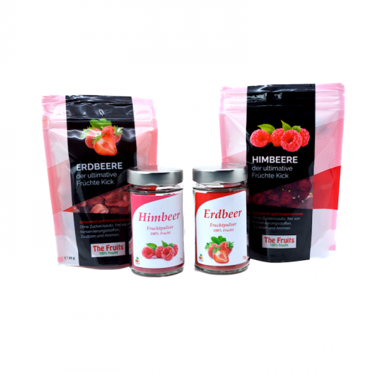 Strawberry & Raspberry Set for only CHF 21.90 instead of CHF 23.90
