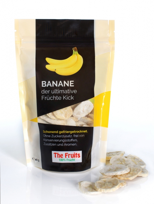 Freeze-Dried Bananas